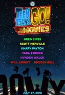 Teen Titans Go to the Movies teaser poster