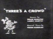 Threes-a-Crowd