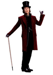 Willy wonka 2005 character