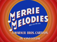 Daffy Dilly Merrie Melodies Intro 2