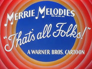 Daffy Dilly Merrie Melodies Outro