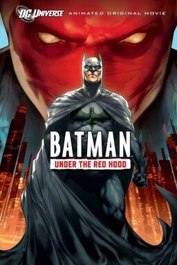 Batman under the red hood poster