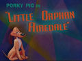 Little Orphan Airdale Title Caed