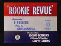 Rooki Revue Title Card