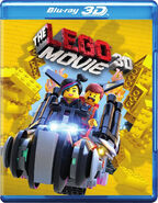 Lego movie blu ray 3d 2015 cover