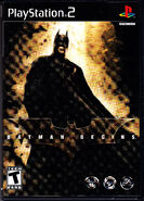 Batman begins front cover PS2
