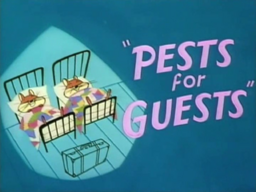 Pests for Guests Title Card