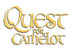 QUEST FOR CAMELOT SHADOWED LOGO