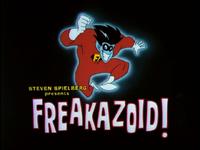Freakazoid title