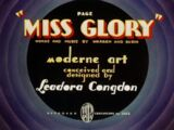 Page Miss Glory (1936 Merrie Melodies short)