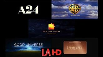 A24 Warner Bros. Pictures New Line Cinema Good Universe Point Grey