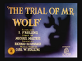 The Trial of Mr. Wolf Title Card