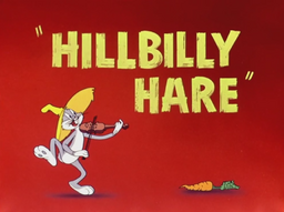 Hillbilly Hare Title Card