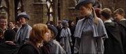 Gabrielle kissing Ron