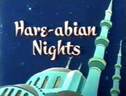 Hare-abian Nights Title Card