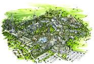 Parque Warner rendering