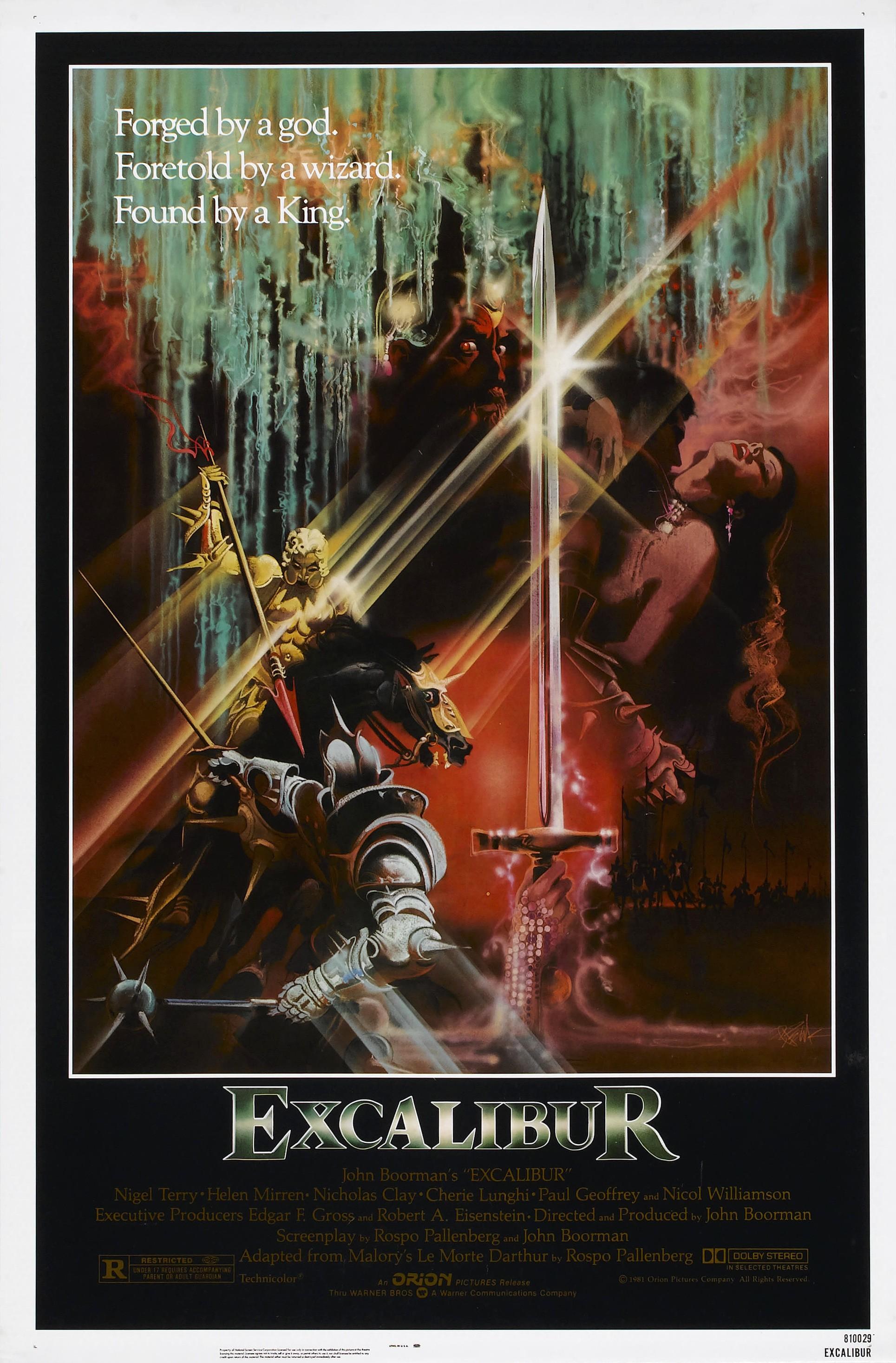 Excalibur Film Warner Bros Entertainment Wiki Fandom Powered