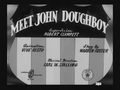 Meet John Doughboy Title Card