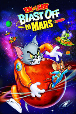 Tom and Jerry Blast Off to Mars cover