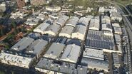 Warner Bros. Studios Burbank Aerial View -1