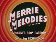 Cheese Chasers Merrie Melodies Intro 2