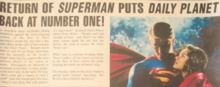 Return of Superman puts Daily Planet Back at Number One