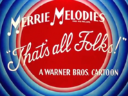 Beep, Beep Merrie Melodies Outro