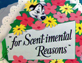 For Scent-imental Reasons Title Card