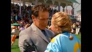 Nolan praising Channing for winning the Kentucky Open