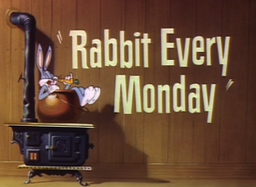Rabbit Every Mondy Title Card