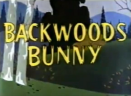 Backwoods Bunny Title Card (Bad Quality)