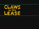 Claws in the Lease