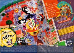 Kids WB print ad 1995