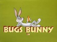 Bewitched Bunny Bugs Bunny Intro
