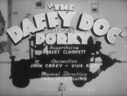 The Daffy Doc Title Card (with credits)