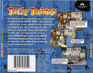 Looney tunes daily desktop 1998 cover back