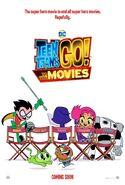Teen titans go movie poster