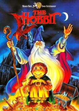 The hobbit 1977 dvd cover
