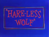 Hare-Less Wolf