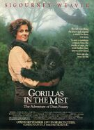 Gorillas In The Mist poster