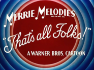 Water, Water Every Hare Merrie Melodies Outro