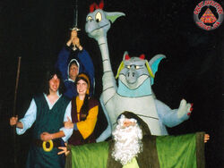 Quest for Camelot Nights behind the scenes