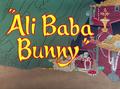 Ali Baba Bunny Title Card