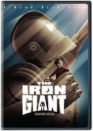 The Iron Giant DVD 2016