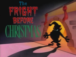 The Fright Before Christmas Title Card