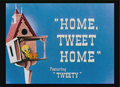 Home, Tweet Home Title Card