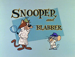 Snooper and blabber hanna-barbera title card logo