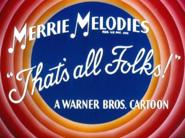 Bye, Bye Bluebeard Merrie Melodies Outro