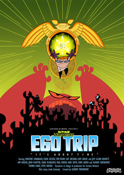 Dexter's laboratory ego trip poster