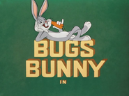 High Diving Hare Bugs Bunny Intro